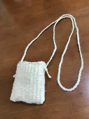 エコおりりん習熟コース【1】輪織りで楽しむ、マチ無しミニポシェットキット