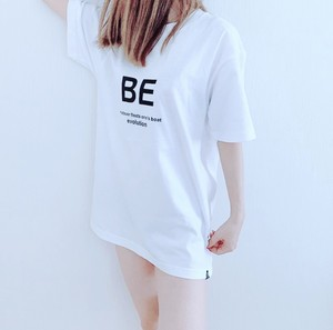 BE Tシャツ ロゴ(WHITE)