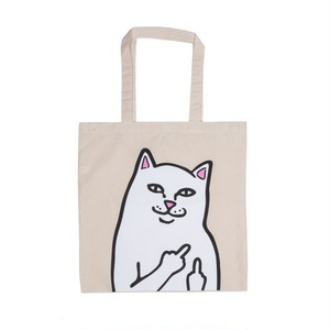 RIPNDIP - OG Lord Nermal Tote Bag (Natural Canvas)