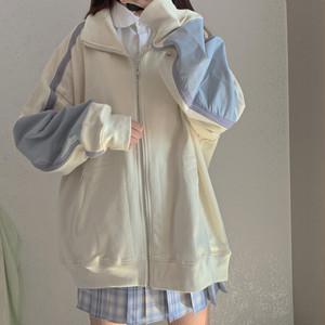 ラインデザインジップジャケット ・10098
