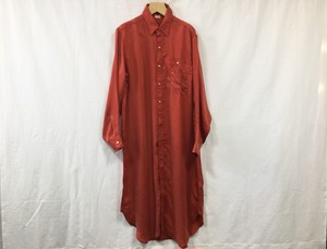 "MAISON EUREKA "" MY LONG SHIRT "" RED"