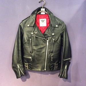 black 666 rider's  jacket [B1336]