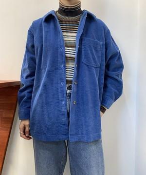 L.L.Bean corduroy shirt blue 【M】
