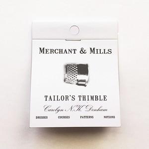 <MERCHANT&MILLS> TAILOR'S THIMBLE 指ぬき