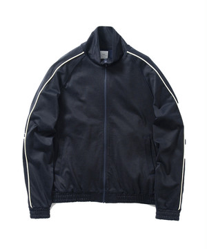 Name.【ネーム】RAYON/COTTON JERSEY JACKET (NAVY)