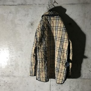 [ BURBERRY ] inside checked jacket