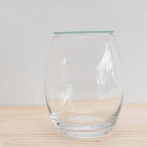 【ガラス容器】バルーン(口径90xh150mm)◆斜面のある景色におすすめ
