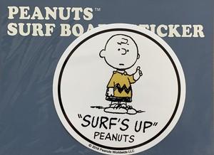 SURF'S UP PEANUTS STICKER SNP-0062