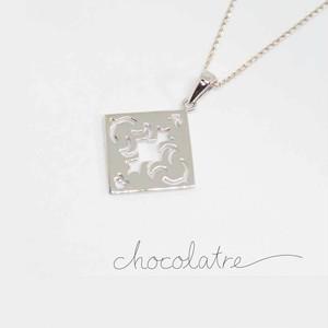 chocolatre「フォンダン」シルバーペンダント