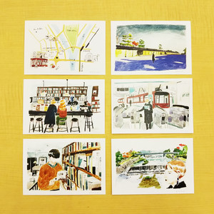 出町座オリジナルポストカード 第2期 6枚セット