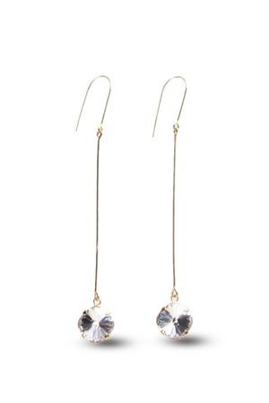 Swarovski Long Drop Hook Earrings