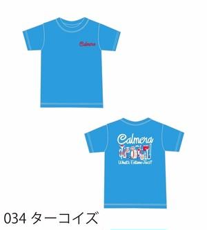 【期間限定/受注生産】ターコイズ/エンタメジャズカラフルTEEシャツ