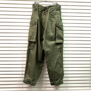 1975's HOLLAND MILITARY CARGO PANTS オランダ軍 カーゴパンツ W28