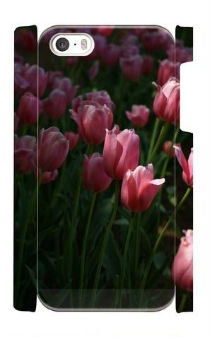 iPhone5・5S用ケース:チューリップ001