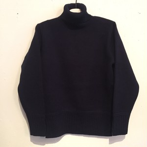 【UNITUS】Turtleneck Sweater [NAVY]