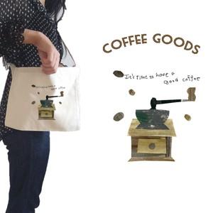 【選べる】コーヒー柄のサコッシュ‼