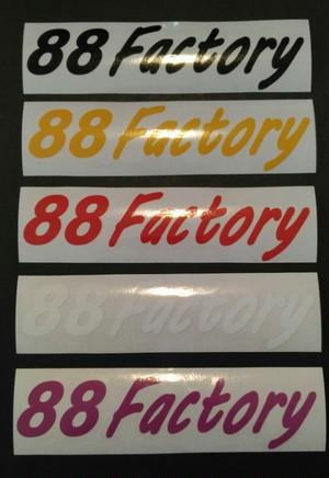 88Factory Shopデカール 切り文字 スタンダードカラー