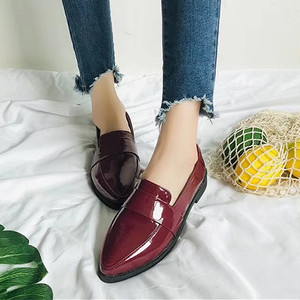 【flat-shoes】2018 autumn Korean style loafer