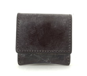 RE.ACT Bridle Leather Coin Case Burgundy