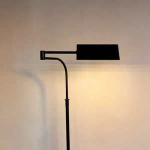 Vintage Adjustable Floor Lamp BLACK 70's オランダ