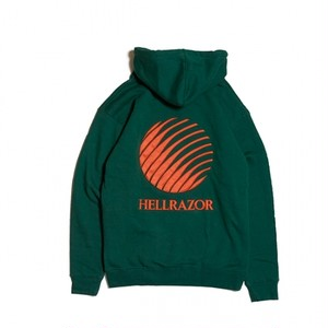 HELLRAZOR / EMBROIDERED  LOGO HOODY