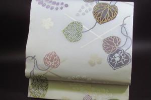 「水衣錦」袋帯 中古(未使用品)(織文意匠・鈴木)