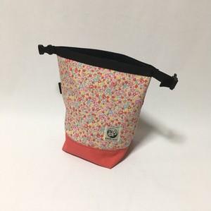 STYLE「結」  小花柄ピンクチョークバッグ Y020