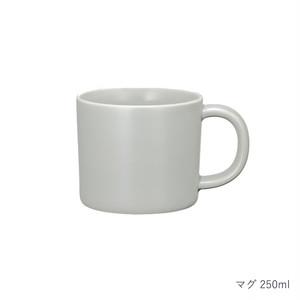 西海陶器 波佐見焼 「コモン」 マグ 250ml グレー 13877