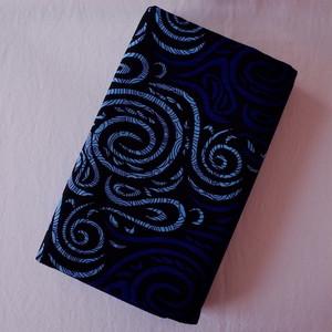 アフリカンプリント布(キテンゲ)  fairy blue