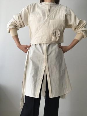Earih/ pocket vest shirt