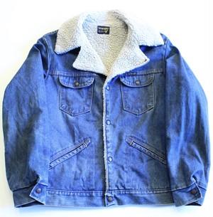 1980's〜1990's Wrangler denim boa Jacket