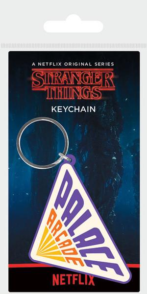 引続きセール主力商品20%OFF!  ストレンジャーシングス ラバーキーホルダー Stranger Things (Palace Arcade) PRK38893