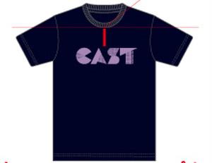 カーニバルTシャツ(ネイビー)