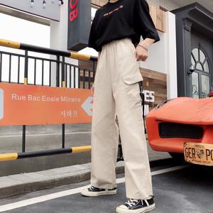 【ボトムス】春新作韓国風insファッションルーズカジュアルパンツ