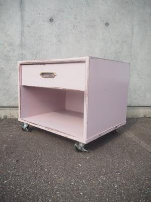 品番0664 キャビネット ピンク / Pink cabinet