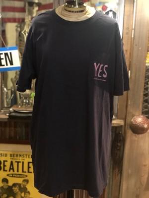 across the universe  オリジナル・Tシャツ ポケットTシャツ ネイビー YES