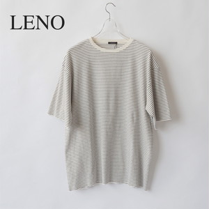 LENO/リノ・HALF SLEEVE BORDER T-SHIRT