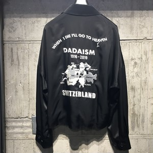 【CHRISTIAN DADA】Oversized Satin Vietnam Jacket