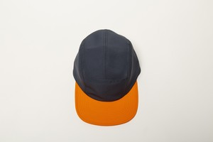 ESTER  2TONE CAMP CAP (GRAY x ORANGE)