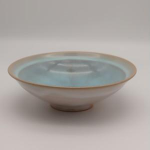 硝子釉中鉢 ブルー