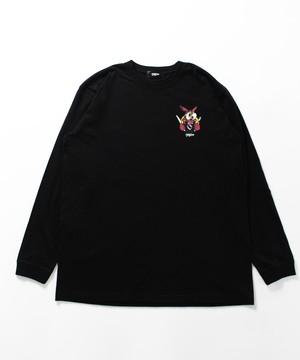 MYne CODEX 別注 L/S T-shirt / BLACK