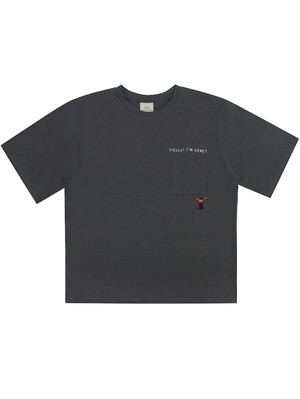 【Mogu Takahashi】POCKET T SHIRT HELLO