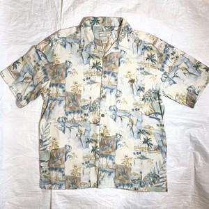【BOCA CLASSICS】アロハシャツ SILK100%
