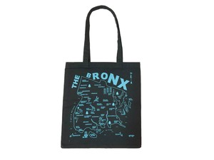 MAP TOTE / BRONX Black