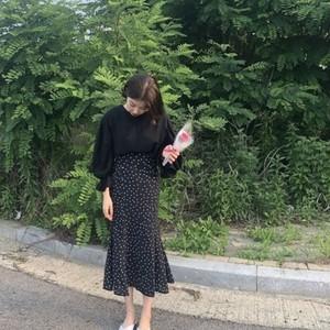 【お取り寄せ商品♡】ドットフリルスカート day021