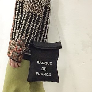 [BANQUE DE FRANCE]オリジナルサコッシュ ショルダーバッグ CALDERA