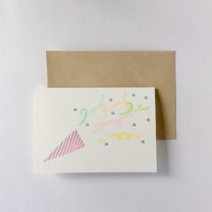 二つ折り card