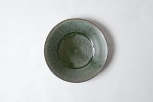 [田中 大喜]  緑釉 段皿(小)