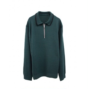 TTT MSW KNIT POLO SHIRT GREEN