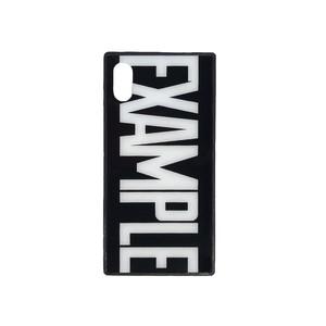EXAMPLE LOGO iPhone CASE /BLACK